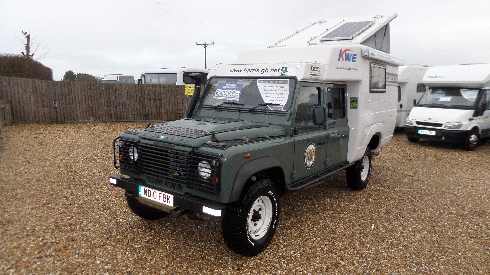 Landrover Defender 130 Camper – Somerset Motorhome Centre
